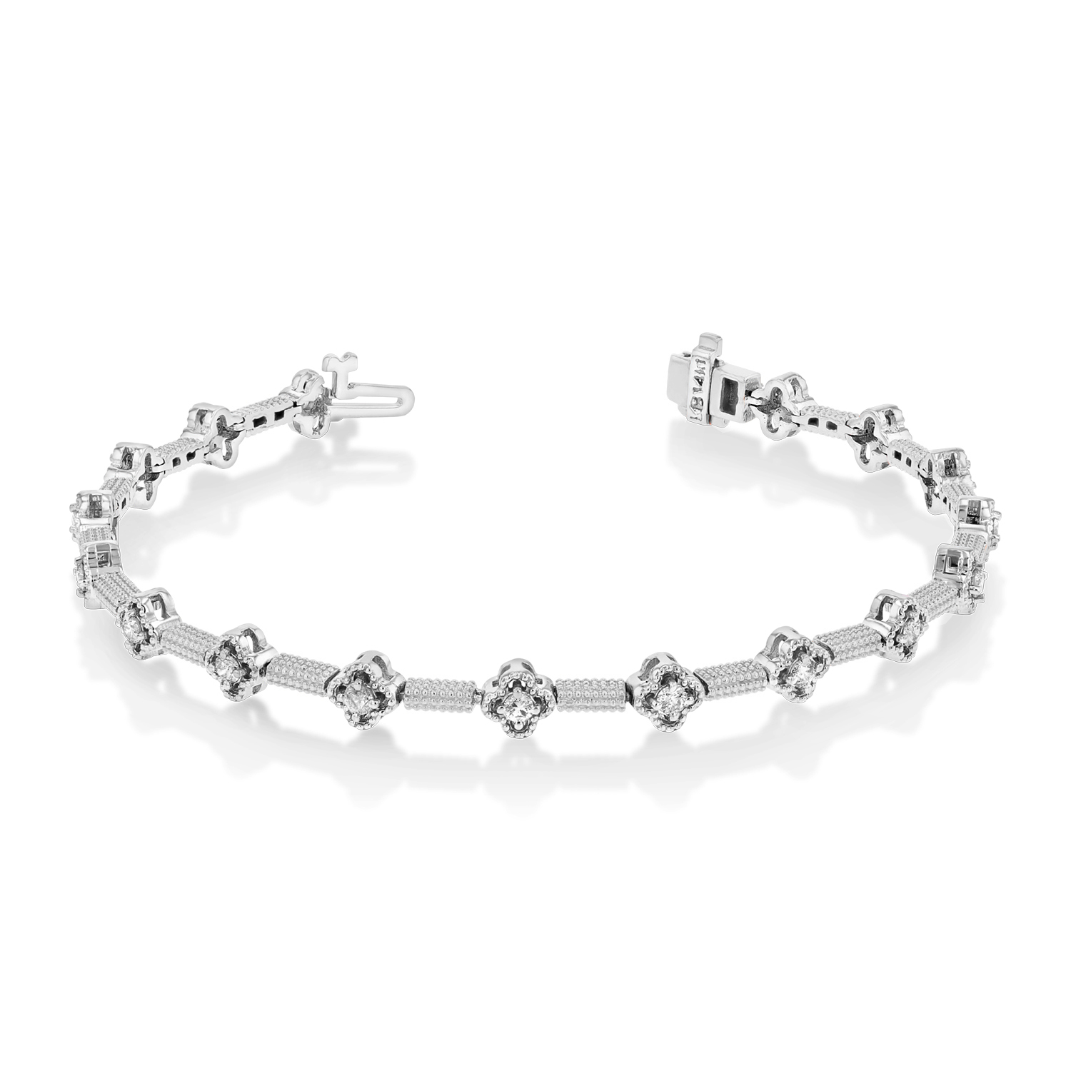 View 0.75ctw Diamond Bracelet in 14k WG
