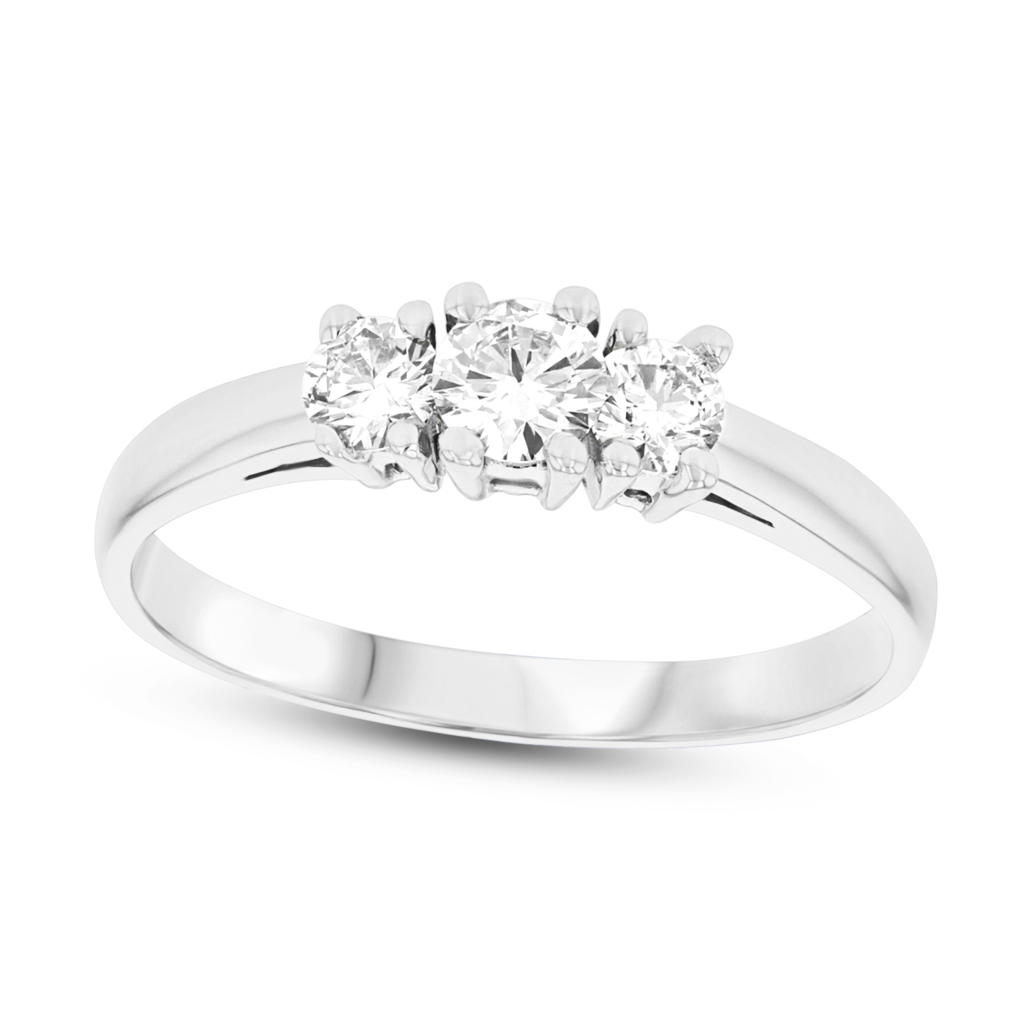 future past and brilliant eve wedding engagement s dazzling ring rings cz present cut
