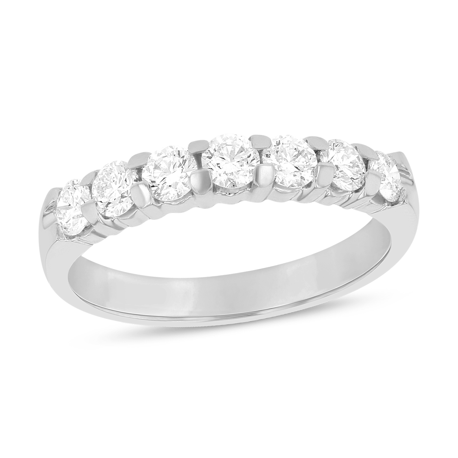 stone rings rose anniversary diamond princess band rg jewelry in wedding with nl custom white gold