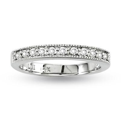 0.25ct tw Diamonds 14k Gold Wedding Band