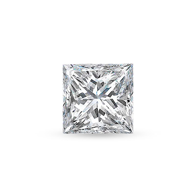View 1/2 ct G-H SI Quality Princess Cut Diamonds