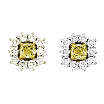 View 1.50 ct tw Natural Fancy Yellow Diamonds