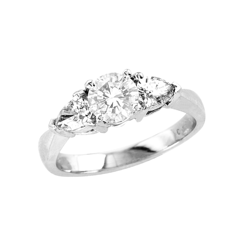 View 1.55cttw Diamond Engagement Ring in 14k Gold