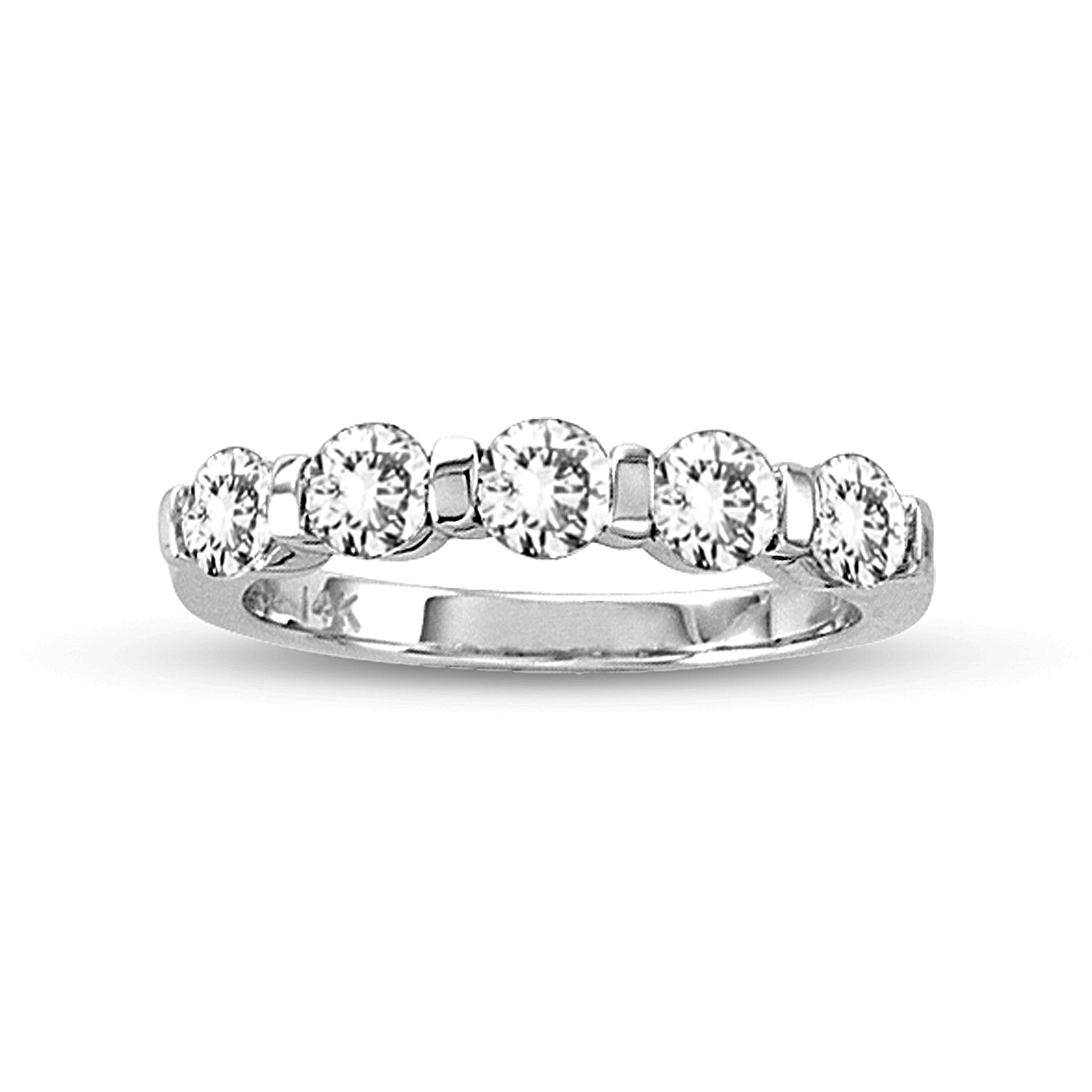 stone engagement bands shared in band at u wedding published prong november diamond shaped liloveve