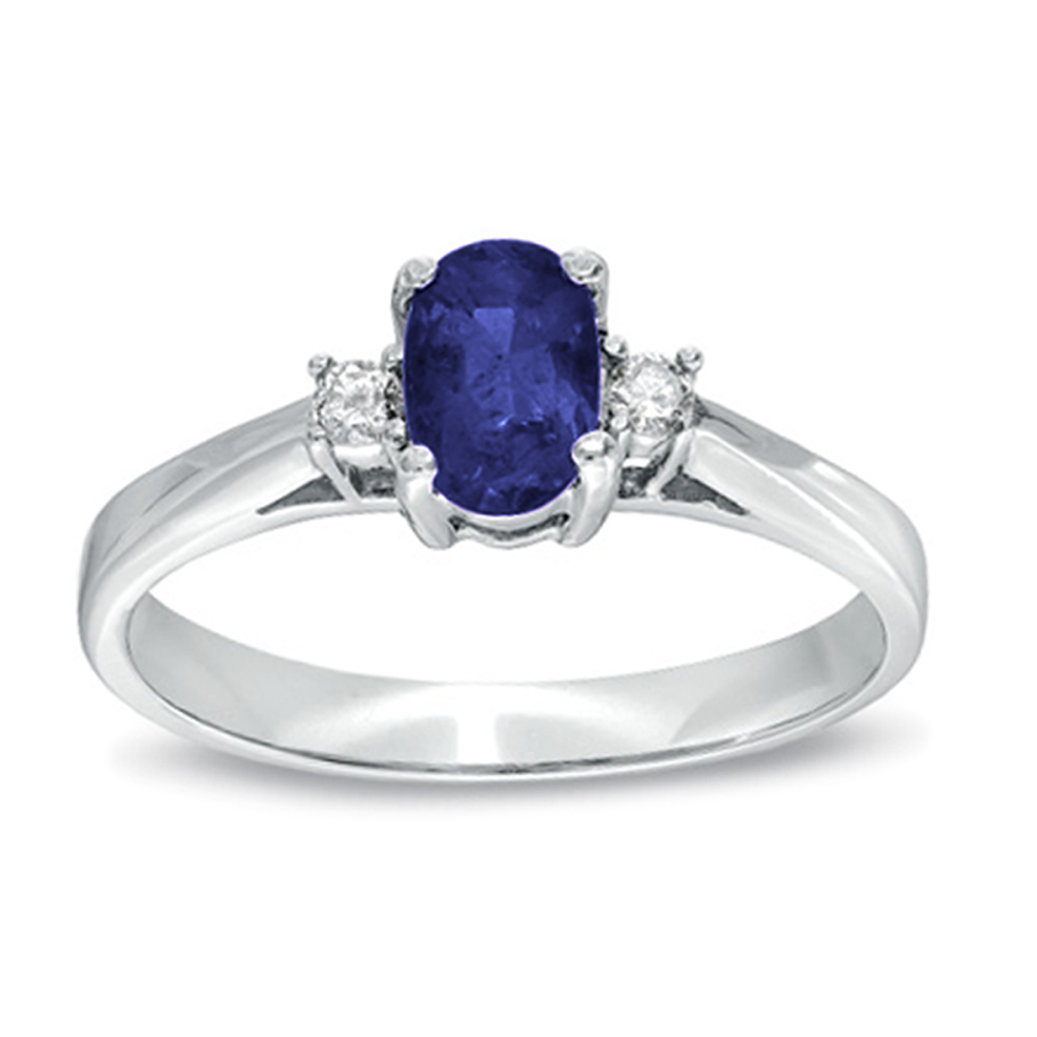 0.53ct tw Sapphire and Diamond Ring set in 14k Gold