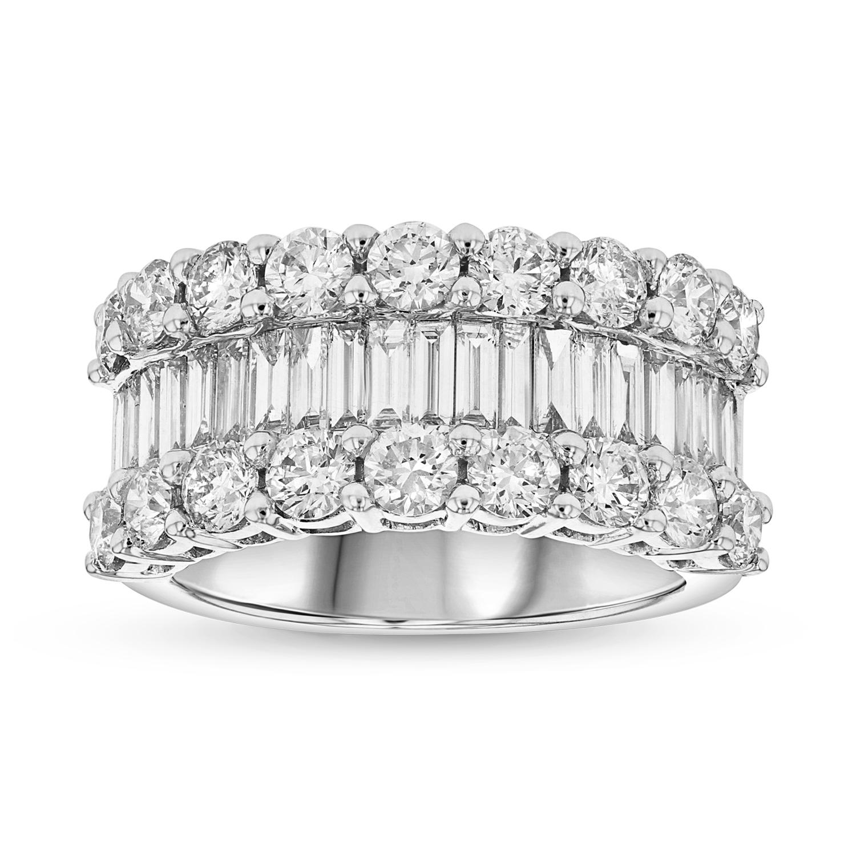 View 3.50ctw Diamond Fashion Ring in 18k White Gold