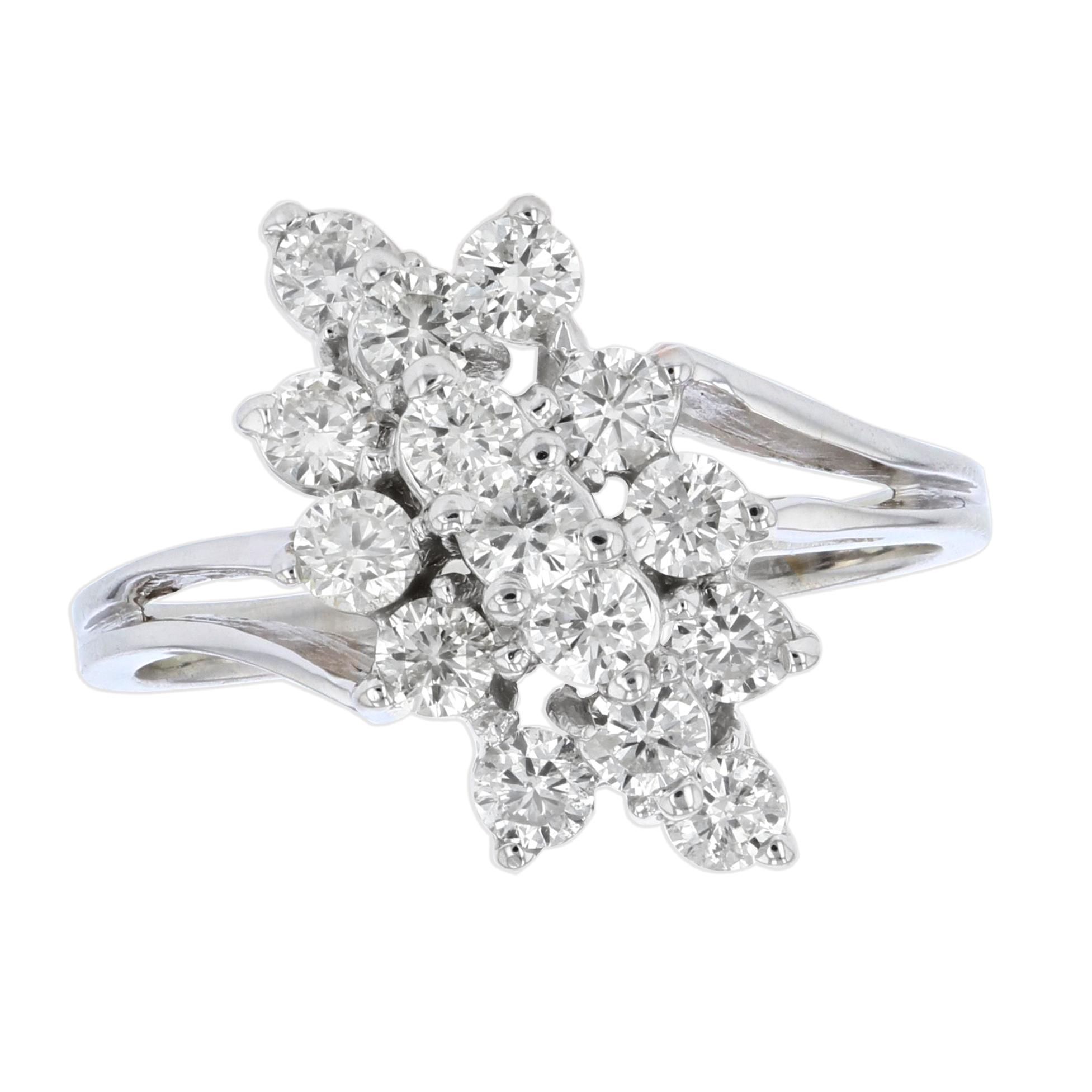 View 1.00 Ctw Diamond Ring in 14K Gold
