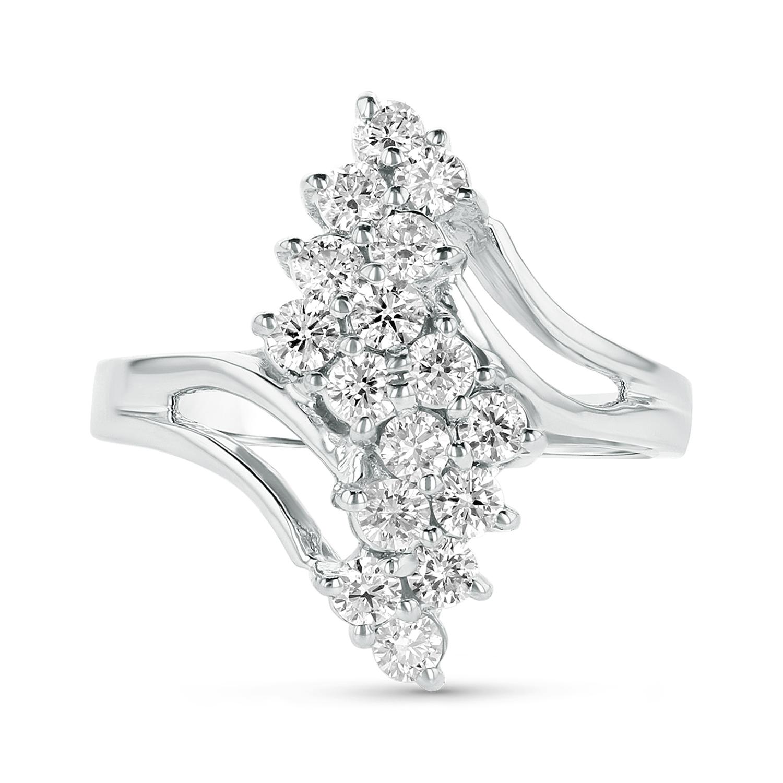 View 0.80ctw Diamond Ring in 14k White Gold