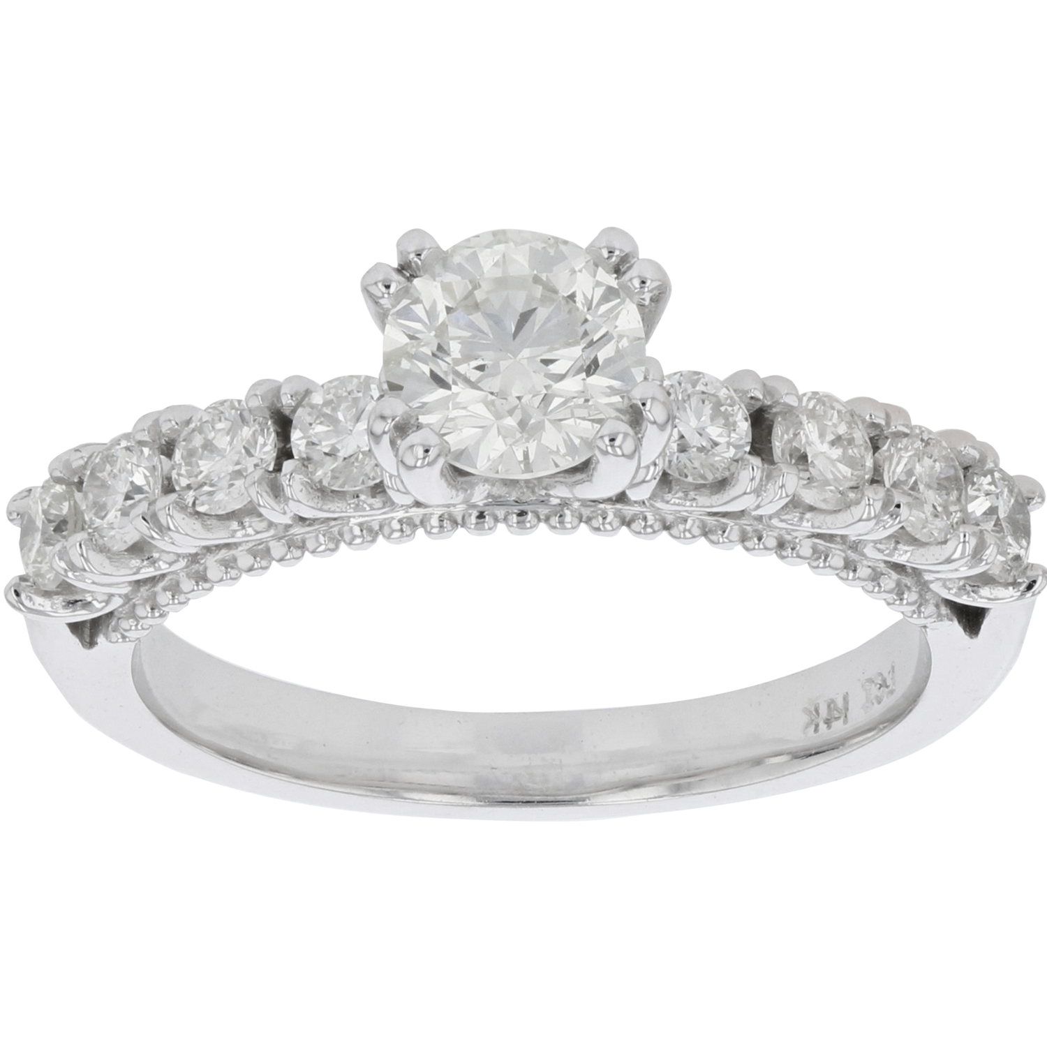 View 1.25xtw Duamond Engagement Ring in 14k White Gold