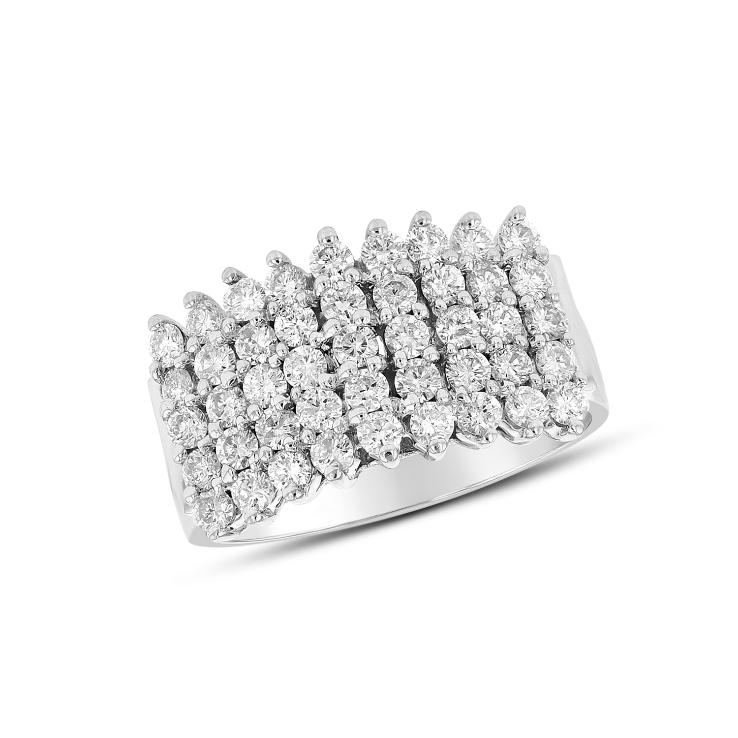 View 1.25ctw Diamond Band in 14k White Gold