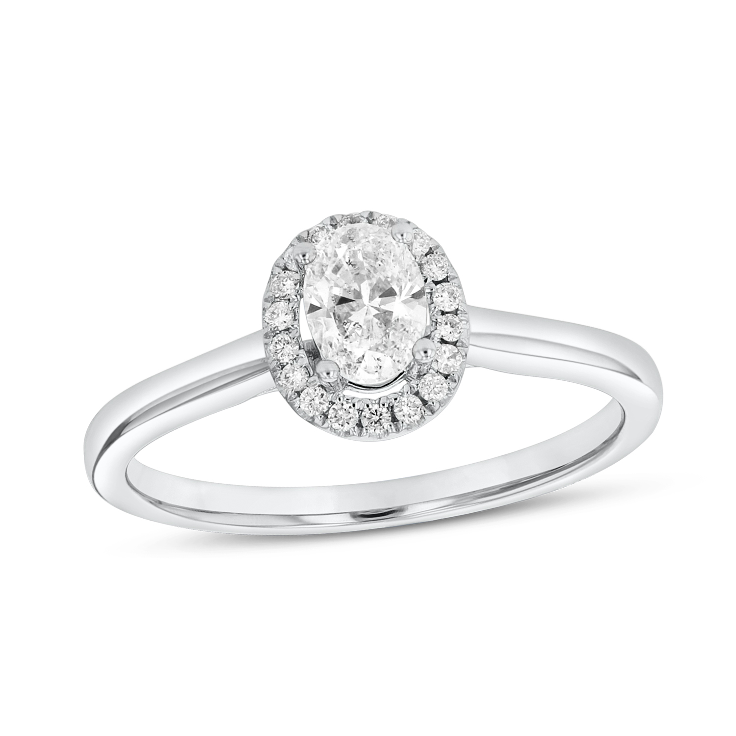 View 0.39ctw Diamond Engagement Ring in Platinum
