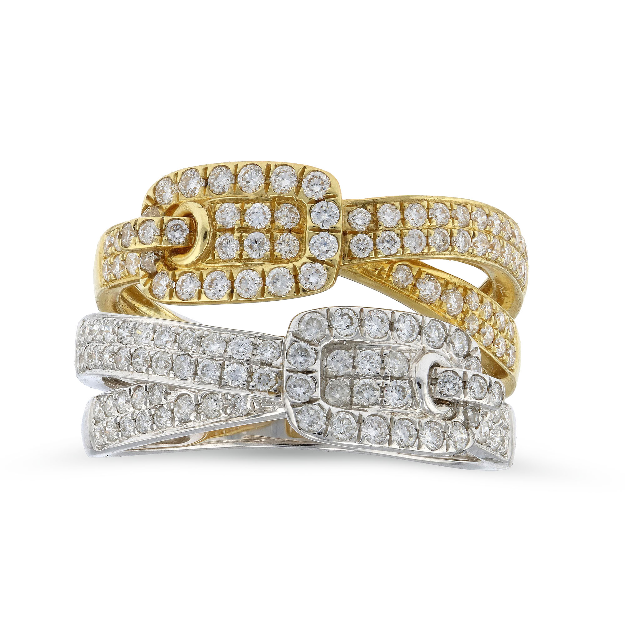 View 0.93ctw Diamond Fashion Ring in 18k Gold