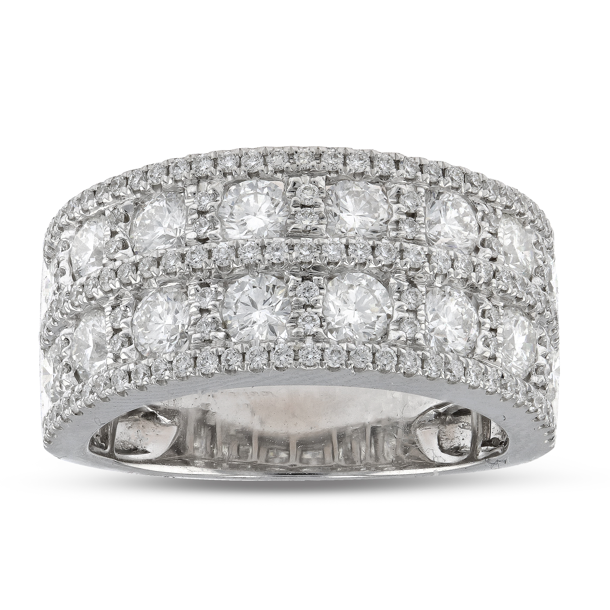 View 2.28ctw Diamond Fashion Band in 18k White Gold
