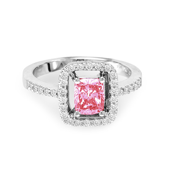 Pink Diamond Fashion Rings View Enlarged View Enlarged