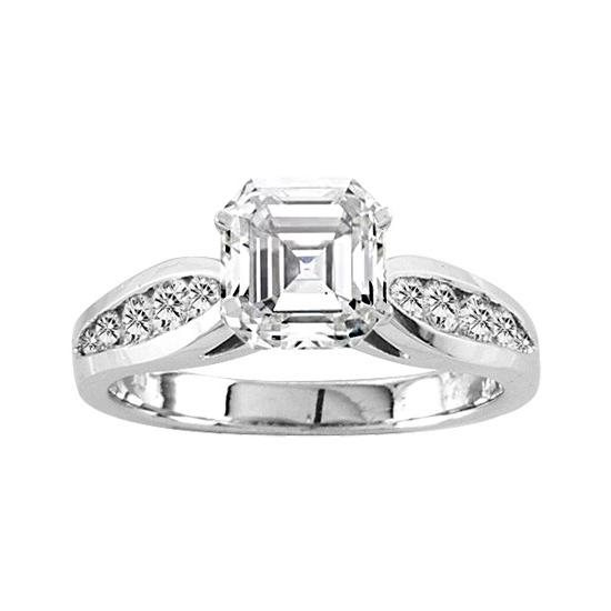 View 14K White  or  Yellow  Gold<BR>  Diamond Ring